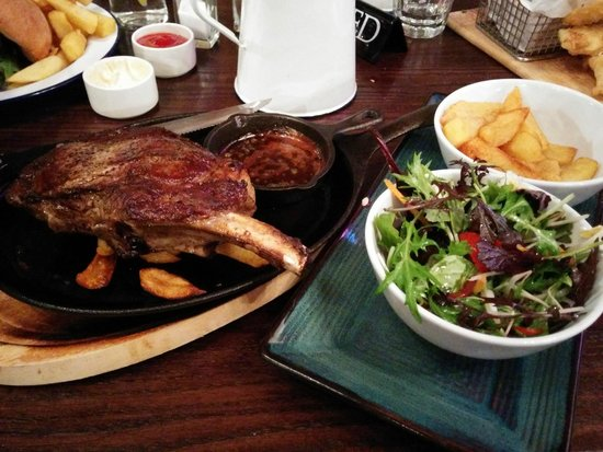 Five Stags Hanmer Springs: Chef's Special 400g ribeye