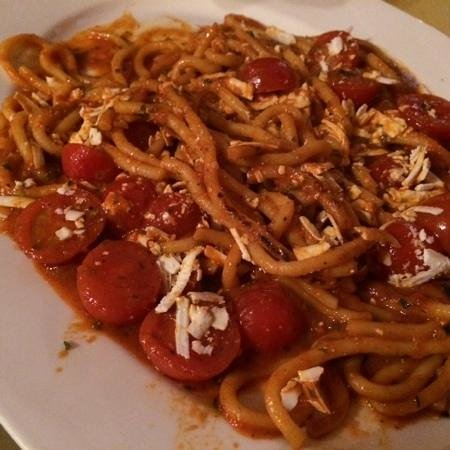 La Buchetta Food & Wine restaurant : La Buchetta pici pasta