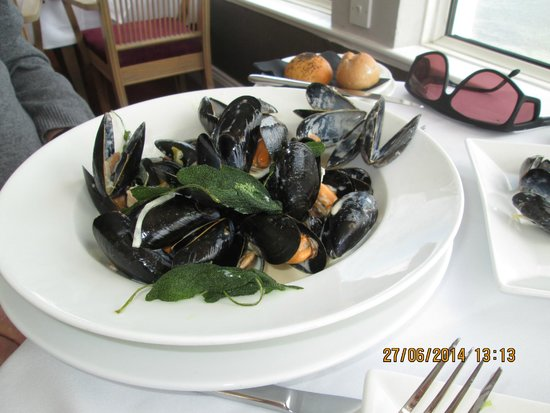 The Greenbank Hotel: Mussels!