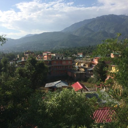 Norbulingka Institute: mountain view from outside the monestary