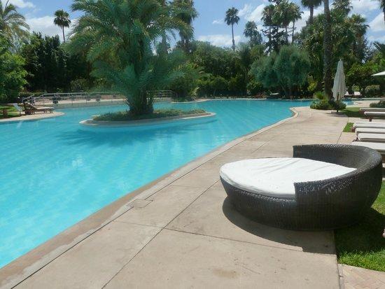 Es Saadi Marrakech Resort - Palace : Piscine