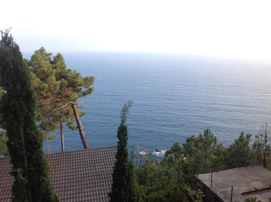 La Francesca Villas & Resort: vista dal terrazzo della casa