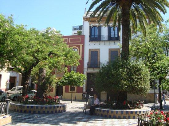 Barrio de Santa Cruz: квартал санта круз