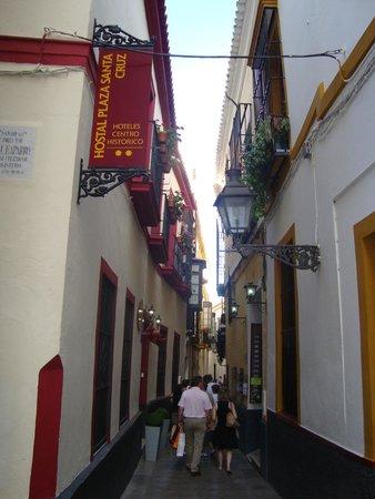 Barrio Santa Cruz : улочки санта круз