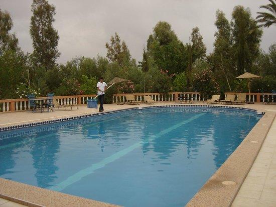 Les Jardins de Ouarzazate: piscine