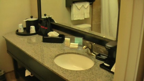 Hampton Inn Bakersfield - Central: badkamer