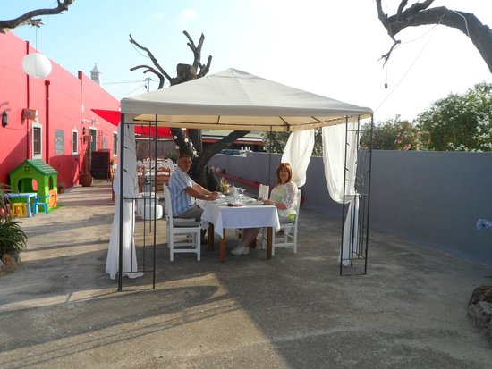 Gunther's Restaurante: Our table