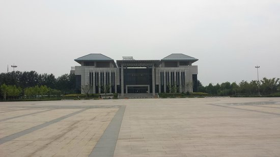 Zhucheng, China: Far building of museum