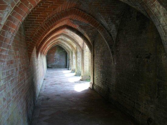 Staunton Park: Under the terrace