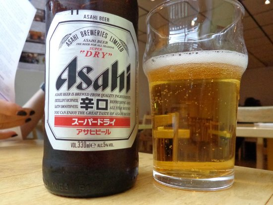 Taro : who needs a wine list when you've got good Japanese beer?