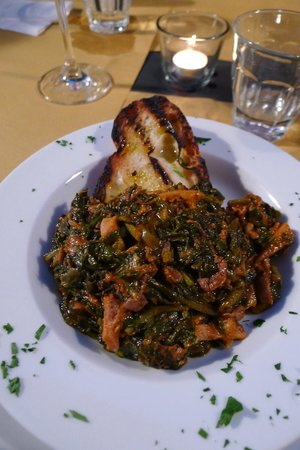 Osteria Le Panzanelle: Lampredotto con cavollo nero (tripes with black cabbage)
