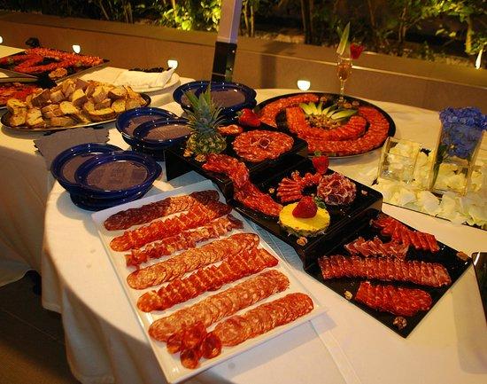 Casoria, Włochy: I buffet