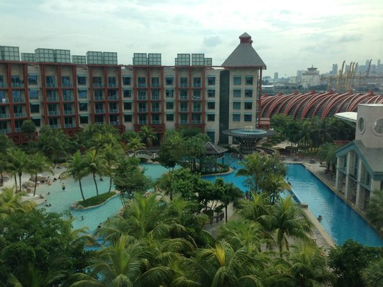 Resorts World Sentosa - Hard Rock Hotel Singapore: View from the room