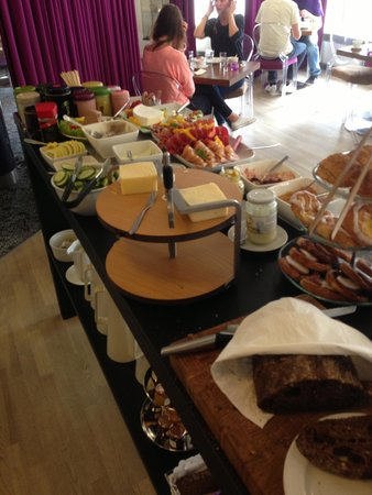 Breakfast buffet at Andersen Boutique Hotel - Yum! (June 2014)
