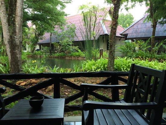 Ramayana Koh Chang Resort: Room terrace