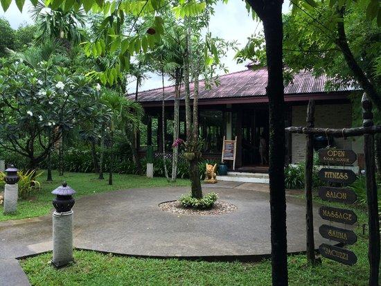 Ramayana Koh Chang Resort: Spa and Gym building