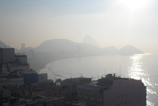 Copacabana Rio Hotel : Copacabana & Leme beaches