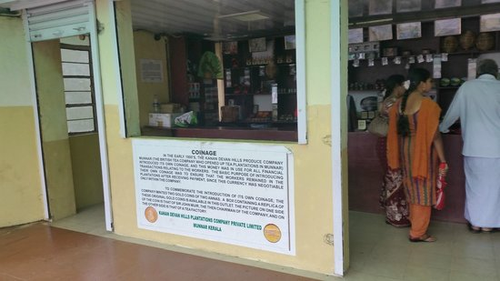 Kannan Devan Tea Museum: Shop
