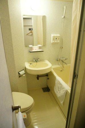 Hotel Wing International Nagoya : bathroom