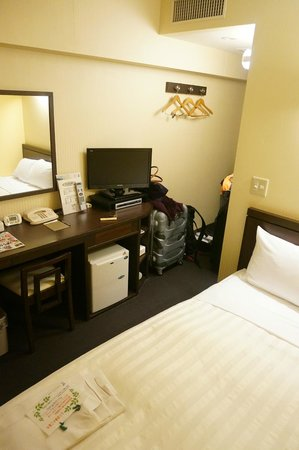 Hotel Wing International Nagoya : small double