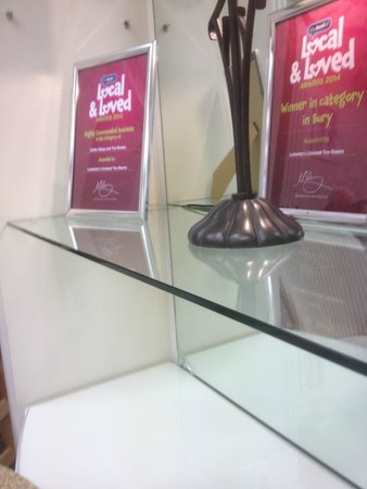 Leckenby's: Many Awards Leckenbys Tea Rooms have been Awarded