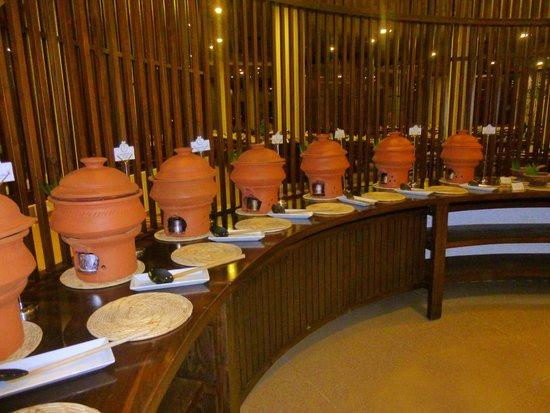 Eden Resort & Spa : Buffet