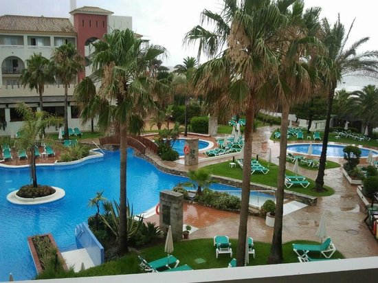 Hotel Fuerte Conil - Costa Luz: Piscina desde la habitación