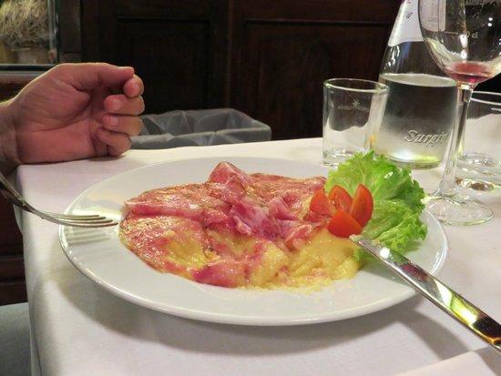 La Taverna di Via Stella: polenta con soppressa