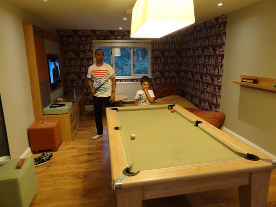 Center Parcs Elveden Forest: Sports Room