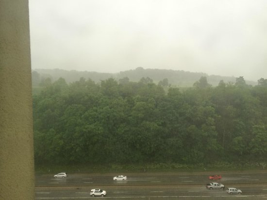 Pittsburgh Airport Marriott: View From Side Window On The 15th Floor
