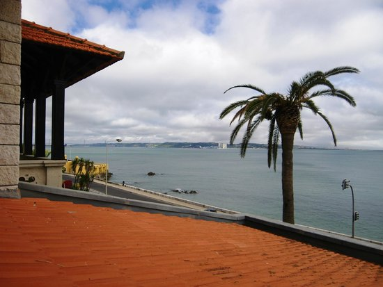Hotel Solar Palmeiras: Vue vers Lisbonne
