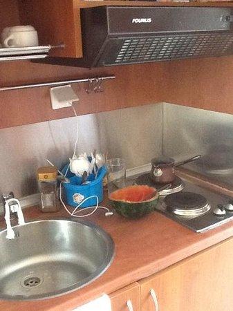 Hotel Apanema: kitchennette