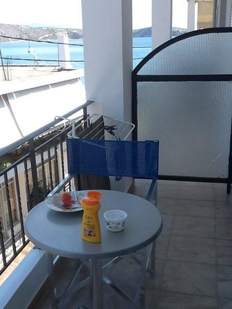 Hotel Apanema: balcon
