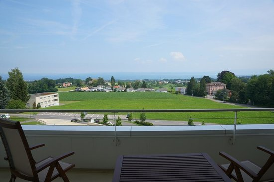 Oberwaid - Kurhotel & Privatklinik: Lake Constance - view from hotel room
