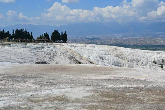 Pamukkale Thermal Pools : klipporna