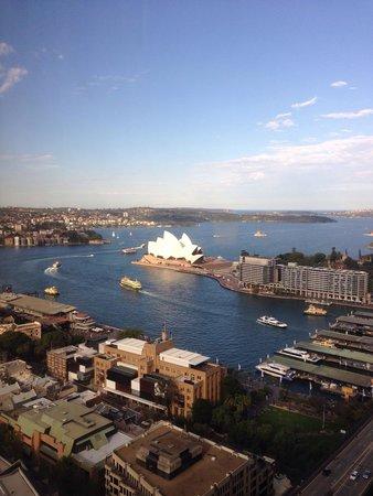 Shangri-La Hotel Sydney : 部屋から見えるオペラハウスです^ ^