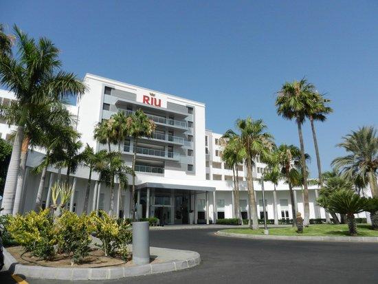 ClubHotel Riu Gran Canaria: voorzijde van het hotel