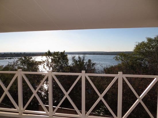The River Club: View of the Zambezi from suite balcony