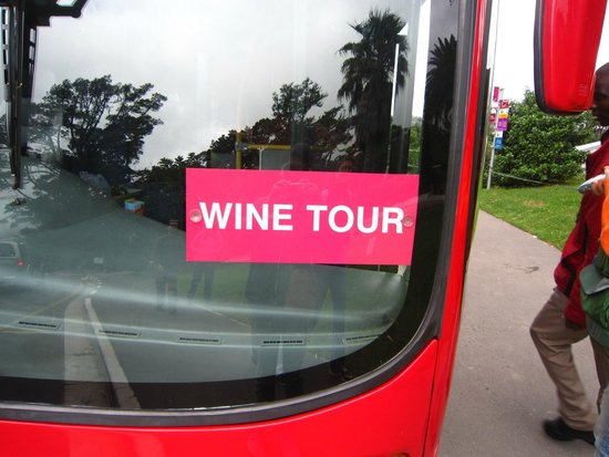 City Sightseeing Cape Town: Wine Tour Bus