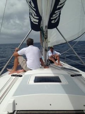Nevis Yacht Private Charters: sailing