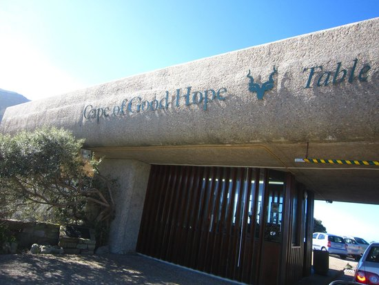Cape of Good Hope: Entrance in Cape Point