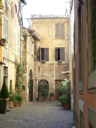 Trastevere Streetscape