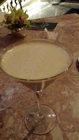Grand Hotel Villa Castagnola : Nice cocktail at the bar