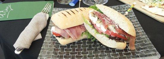 Grand Hotel Villa Castagnola: Lunch time