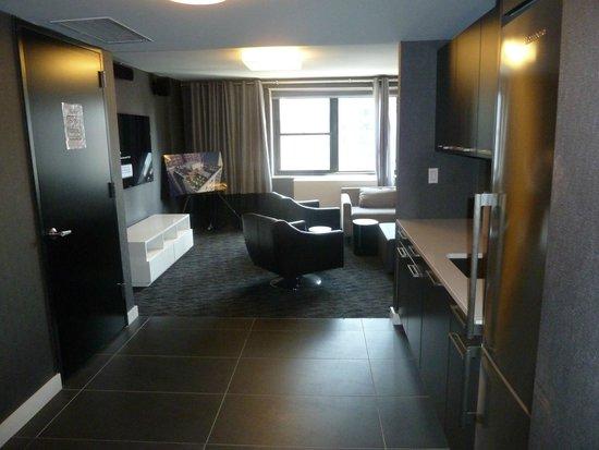 Oakwood at The Nash: Lounge Area