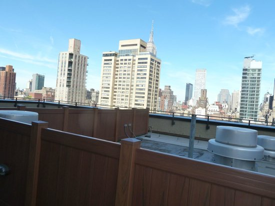 Oakwood at The Nash: Rooftop View