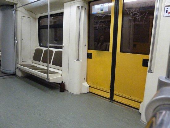 Metro Moskau: train