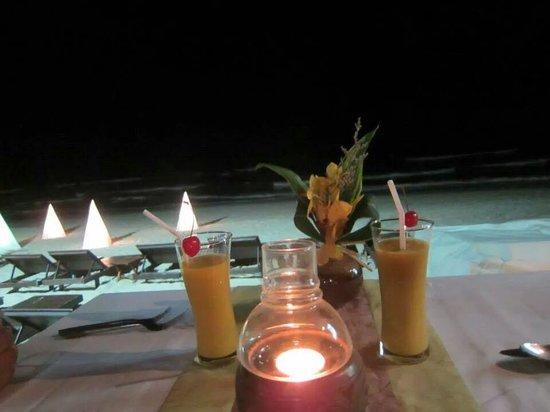 Eat Sense Beach Restaurant Samui : Dinner :)