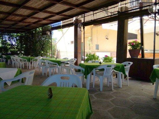 Terrazza - Picture of Trattoria Alocco, Offagna - TripAdvisor