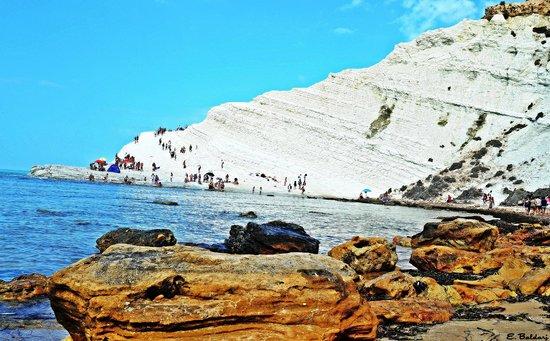 Roccia bianca foto di scala dei turchi realmonte for Cabine di roccia bianca